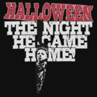 Michael Myers - Halloween T-Shirt by Vojin Stanic