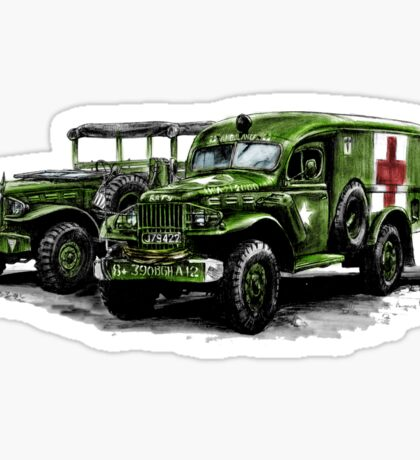 Dodge WC54 and WC51 Sticker