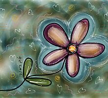 FLOWER FUN 5 by GUADALUPE  DIVINA