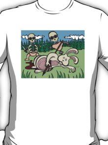 Teddy Bear And Bunny - Baby Doll Robot Killers T-Shirt
