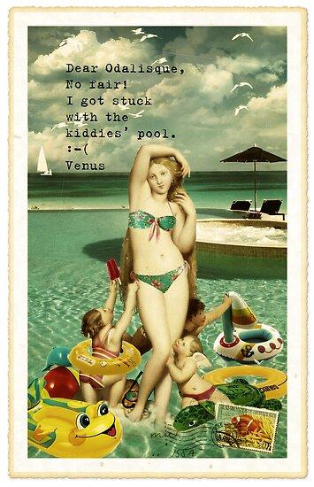 Beach Bums II by Margaret Orr