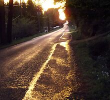 Sunset road by jem16