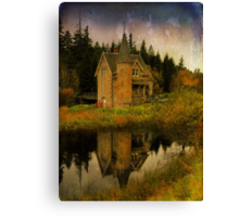 """The Old House"" Canvas Print"