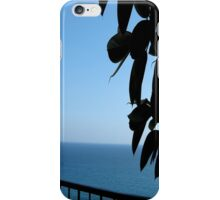sea sky blue iPhone Case/Skin