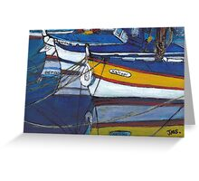 French Reflections Greeting Card