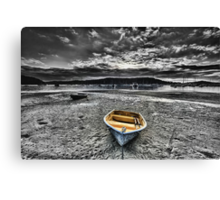 When The Tide Goes Out Canvas Print
