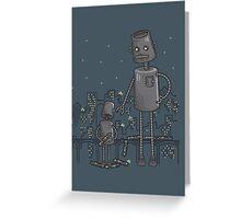Bad Robot Greeting Card