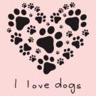 I love dogs (I) by neizan