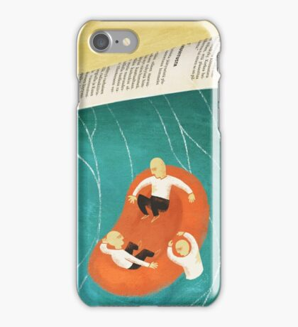 SOS - Just Another Newsday iPhone Case/Skin
