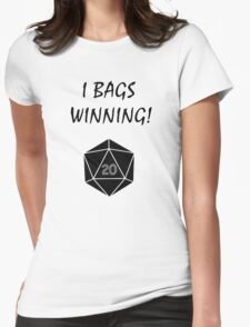 I Bags Winning! - DnD Womens Fitted T-Shirt