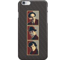 Sherlock Trilogy x3 - Rustic iPhone Case/Skin