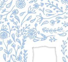 Floral Bear Sticker