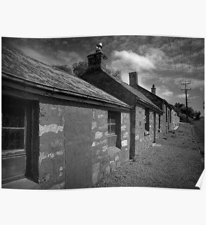 Renovator's Delight- Miner's Cottages, Burra North. Poster