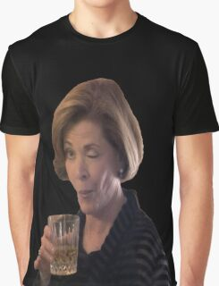 Alcohol is the solution.  Graphic T-Shirt
