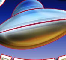 UFO Believer Sticker