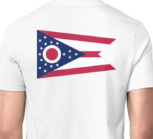 Ohio, Flag, Buckeye State, States of the Union, America, American, USA Unisex T-Shirt