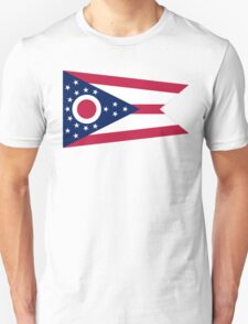 Ohio, Flag, Buckeye State, States of the Union, America, USA T-Shirt
