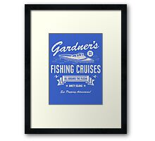 Gardner's Fishing Cruises Framed Print