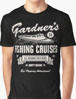 Gardner's Fishing Cruises Graphic T-Shirt