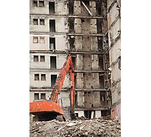 building demolition Photographic Print