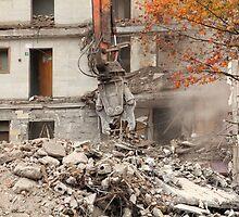 destroyed building by mrivserg