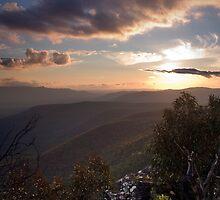 Sunset over Victoria Gap by Alex Fricke