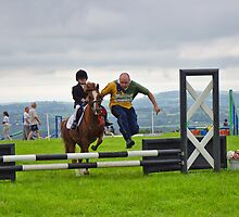 Clearing The Hurdles ~ Buckham Fair by Susie Peek