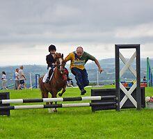Clearing The Hurdles ~ Buckham Fair by Susie Peek