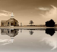 Country Church by aRj Photo