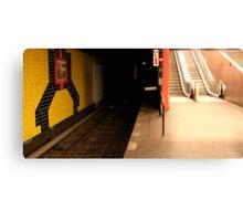 Underground Berlin Canvas Print