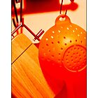Orange colander (border) by jmnowak