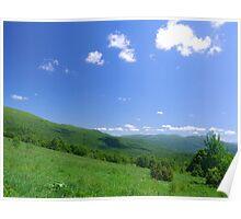 Carpathian landscape Poster