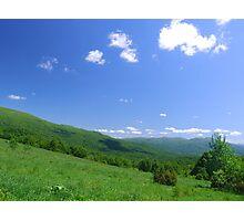 Carpathian landscape Photographic Print