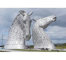 The Kelpies gifts , Helix Park, Scotland Photographic Print