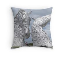 The Kelpies gifts , Helix Park, Scotland Throw Pillow