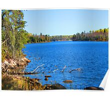 Lake Country color Poster