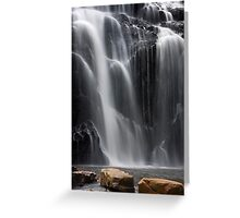Water and Stone Greeting Card