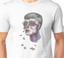 """""""Don't be ashamed to weep… Tears are only water, and flowers cannot grow without water."""" Unisex T-Shirt"""
