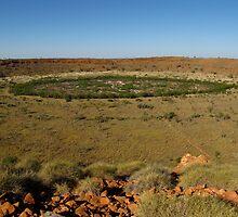 Wolfe Creek Meteorite Crater W.A. by DianneLac