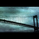 Blue Bergen Bridge by BillyFish