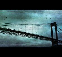 Blue Bergen Bridge by BillyFish