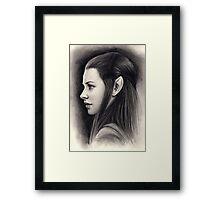 Tauriel Framed Print