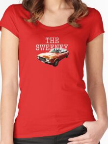 The Sweeney - Car Women's Fitted Scoop T-Shirt