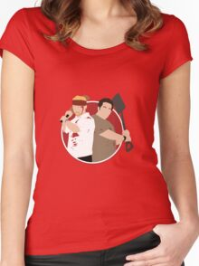 Shaun of the Dead Women's Fitted Scoop T-Shirt