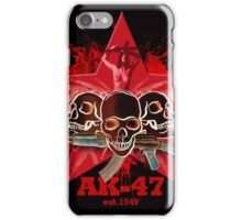 AK47 war she's a whore edition iPhone Case/Skin