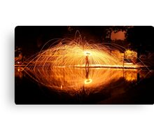 Night at Inverleith Park Canvas Print