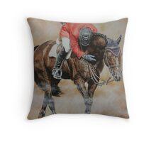 Hickstead Throw Pillow