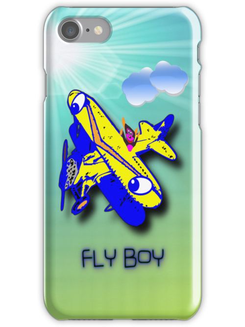 Fly Boy iPhone case design by Dennis Melling