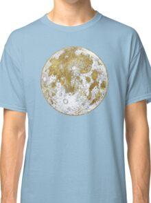 Golden Moon Pattern Classic T-Shirt
