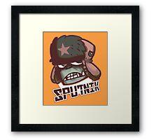 Sputnik Framed Print